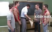 Orgia spettacolre in classe