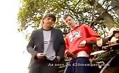 Ragazzi diciottenni si segano i cazzi all'aperto